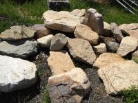 Natural Flat Stone Boulders