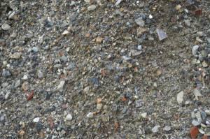 gravel;